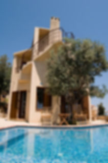 Super romantic luxury villa with swimming pool.