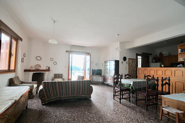 Living room of Angeliki's House
