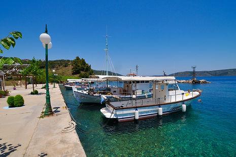 Kalamakia fishing boats in Alonissos