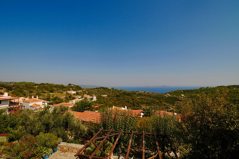 View across Alonissos