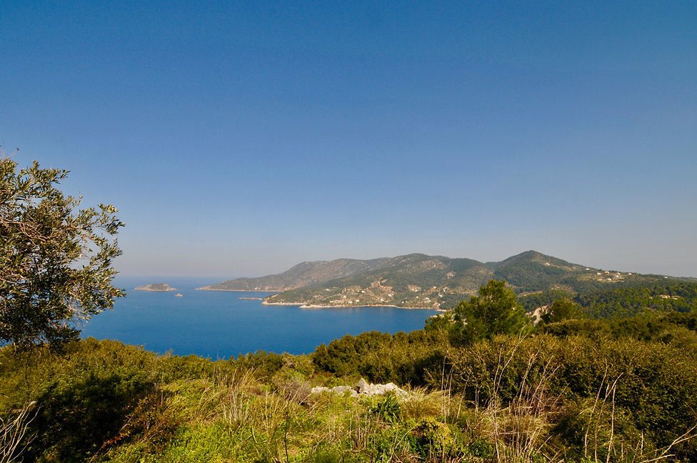 Alonissos panoramic view