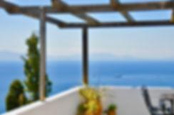 Stunning view from balcony of villa Eirene, old village Alonissos