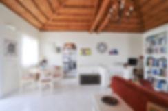 Living room of a villa on Alonissos