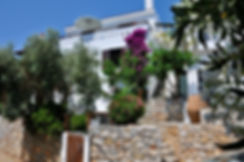 Old village of Alonissos house.