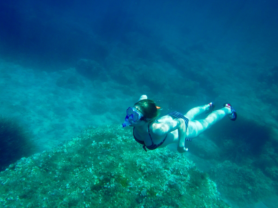 Apnea free diving and snorkelling