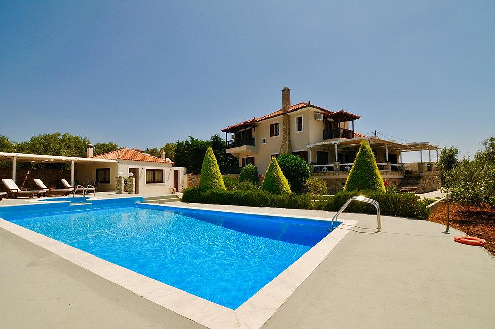 Pool, Annex and Villa