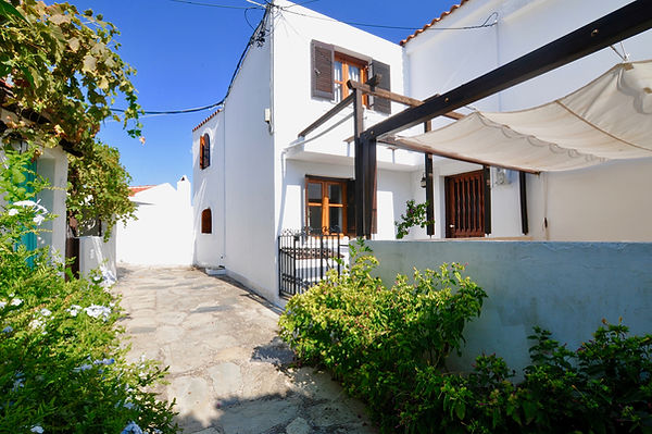Old village house in Alonissos