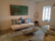 A living room design on Alonissos, Greece