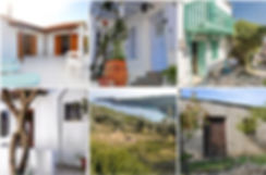 Old Alonissos houses