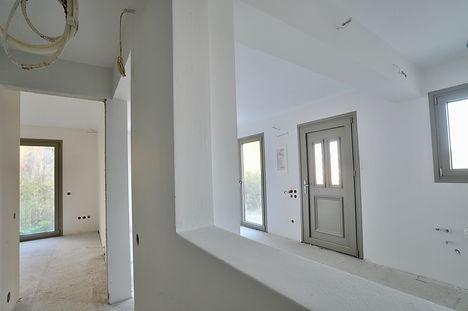 Downstairs corridor.