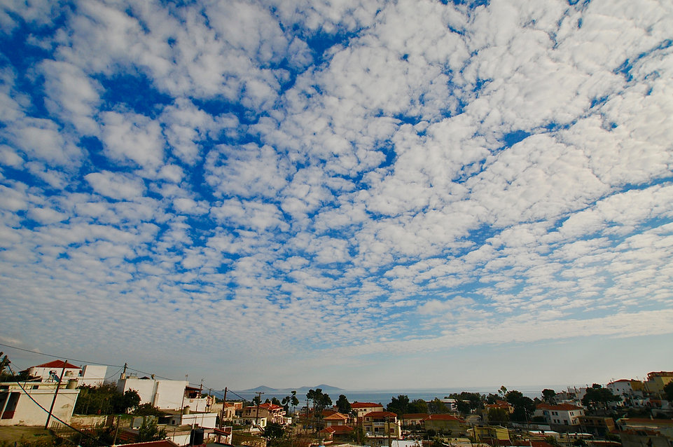 Sky view from Angeliki's roof