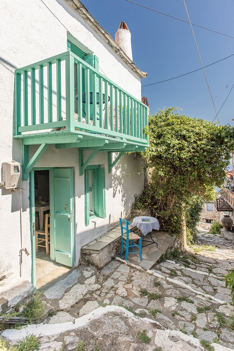 Outside of old village house, Alonissos