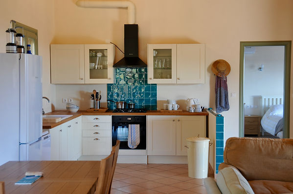Kitchen area of Petrou Elia, Alonissos