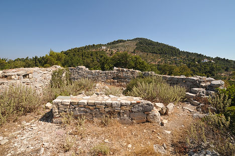 Church ruin in Alonissos.