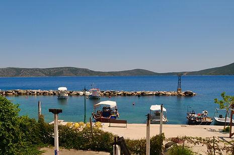 Fishing port of Kalamakia in Alonissos