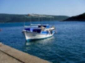Boat in Steni Vala