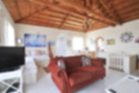 Sitting room of villa Eirene, Alonissos