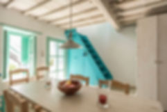 Dining area, Dio spitia, Alonissos town house for sale.