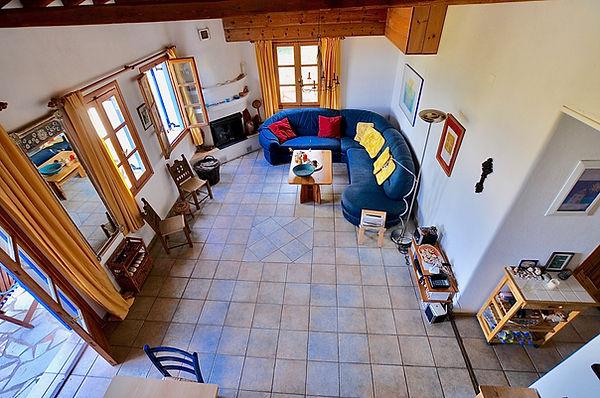 Sitting room of Alonissos house