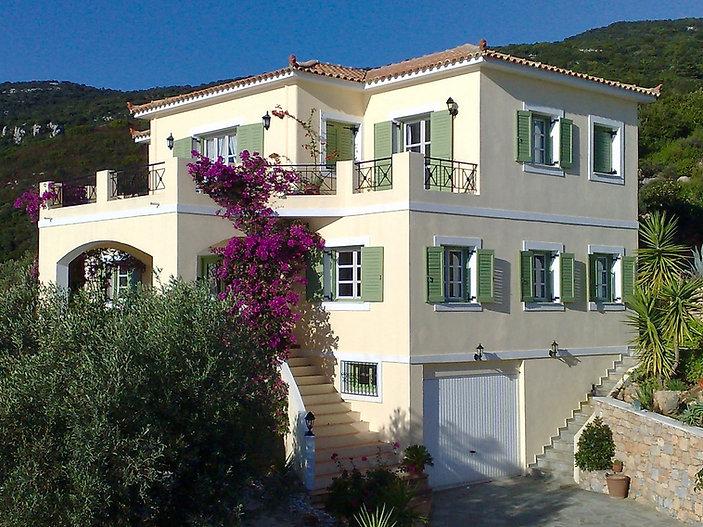 Large villa on Alonissos with garage und