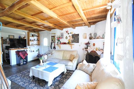 Interior of Villa Rita, Kalamakia Alonis