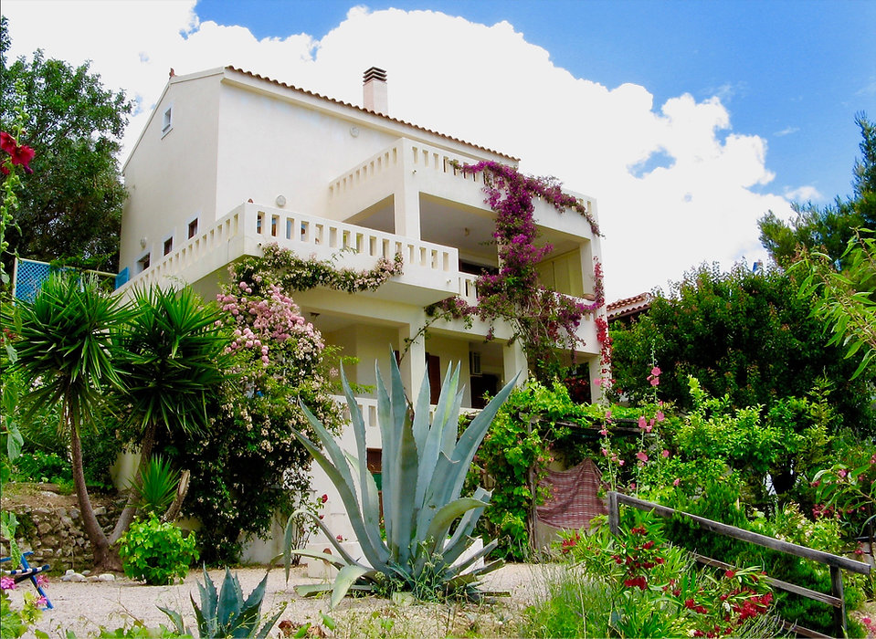 Olive Grove Villa in Alonissos  from garden