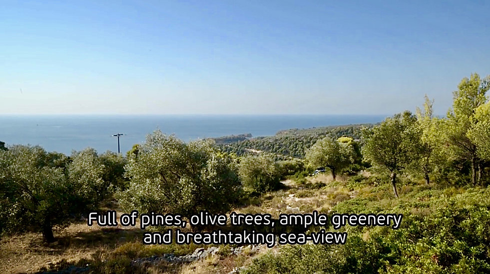 Land for sale, Alonissos
