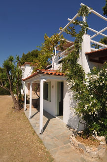 Side of a villa on Alonissos