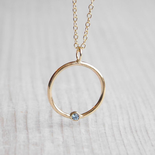9ct Gold Eternity Necklace