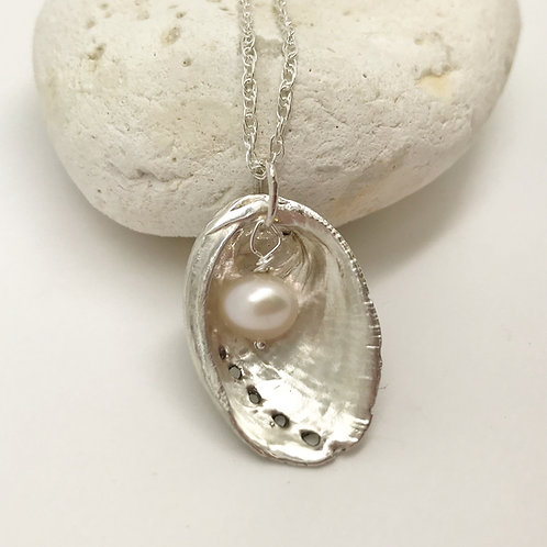 Ormer Silver Necklace