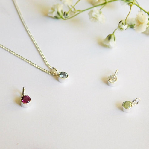 Danity Birthstone Necklace