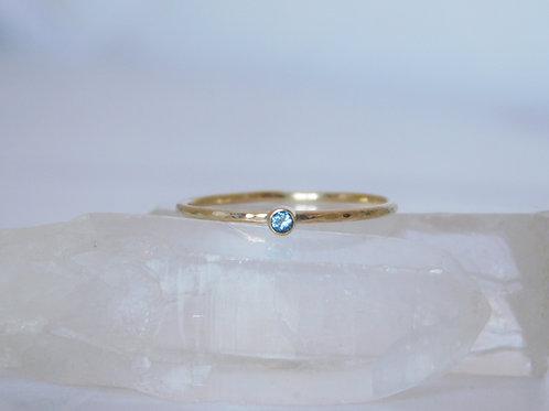 9ct Gold birthstone ring