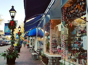 Festive Tisbury is decked out for the ho