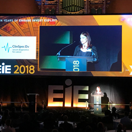 ClinSpec Dx pitch at EIE18