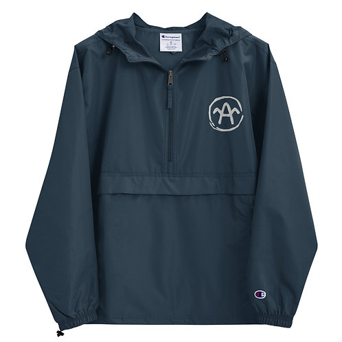 Arivaca Embroidered Champion Packable Jacket
