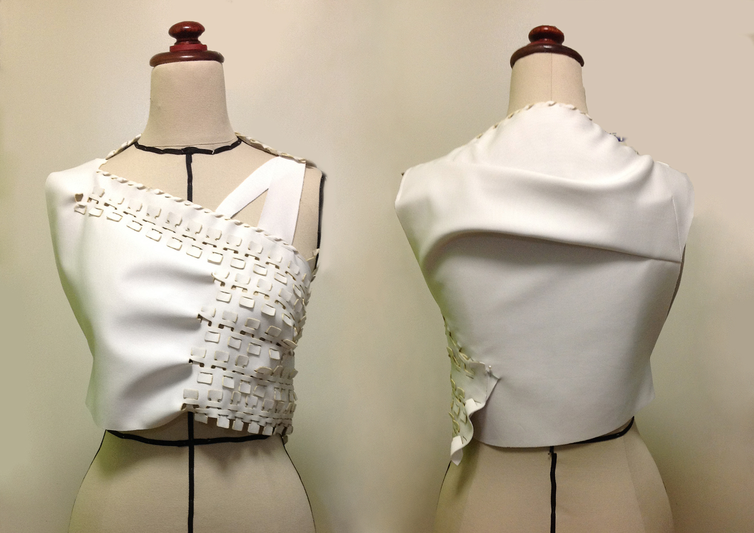 Zero-waste crop top