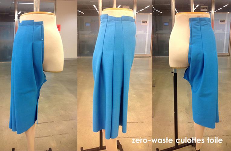 Zero-waste culottes