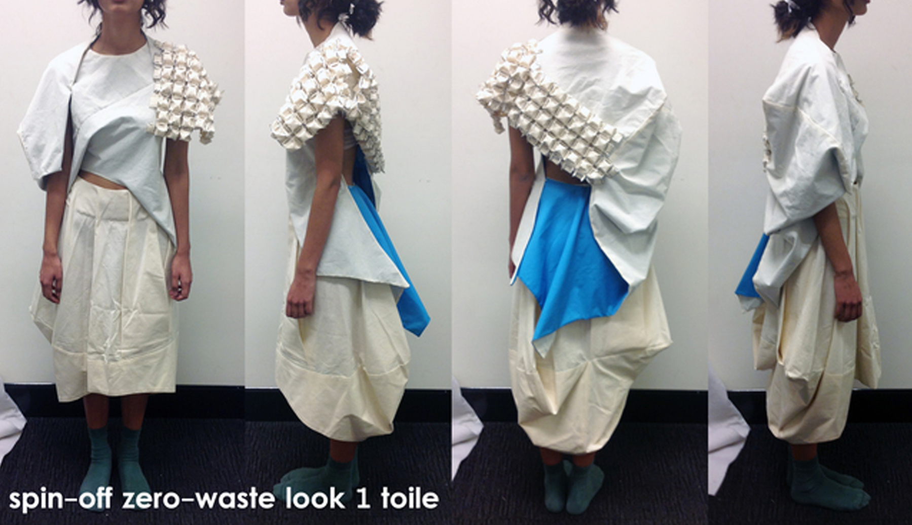 Zero-waste skirt & bodice