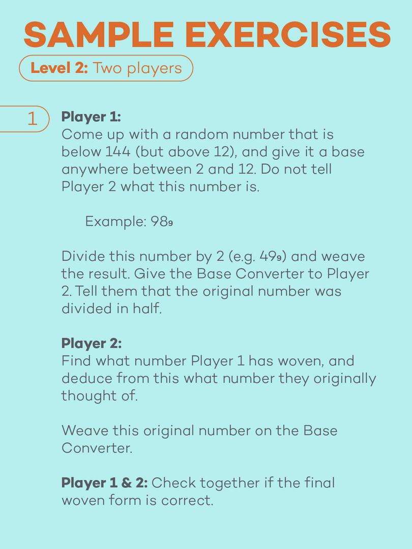 Base Converter Card 8