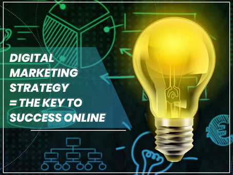 Digital marketing strategy - the key to success online