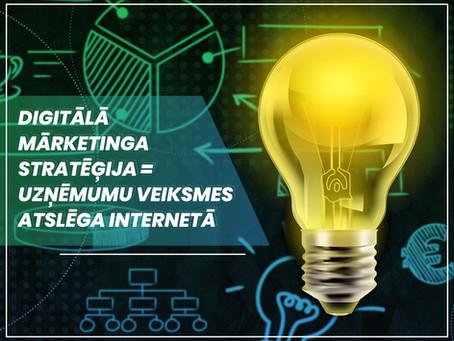 Digitālā mārketinga stratēģija - uzņēmumu veiksmes atslēga internetā