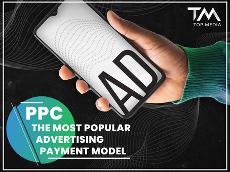 PPC or pay per click - the most popular advertising payment model