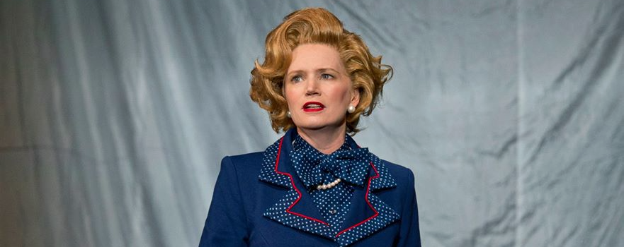 Jane Turner as Margaret Thatcher