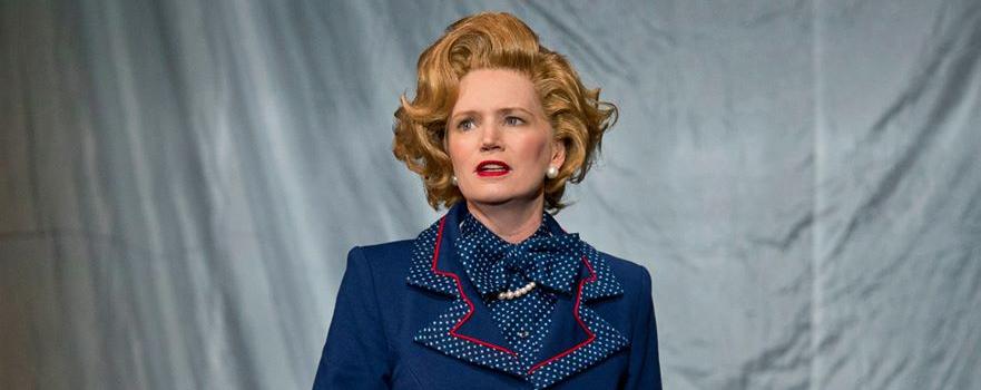 Jane Turner as Margaret Thatcher