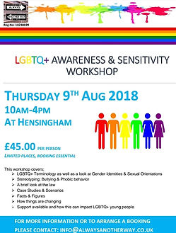 LGBTQ Awareness and Sensitivity Training