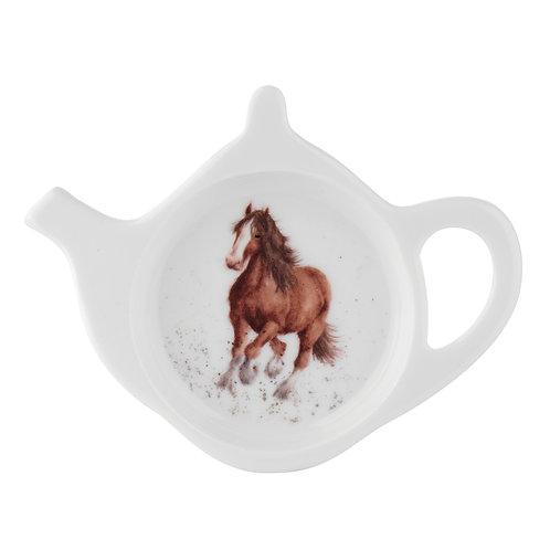 Wrendale design Royal Worcester Teebeutelschüsselchen Pferd