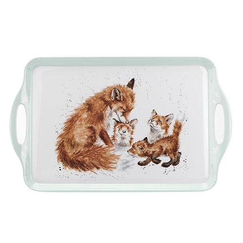 Wrendale Designs Melanine Tray Füchse