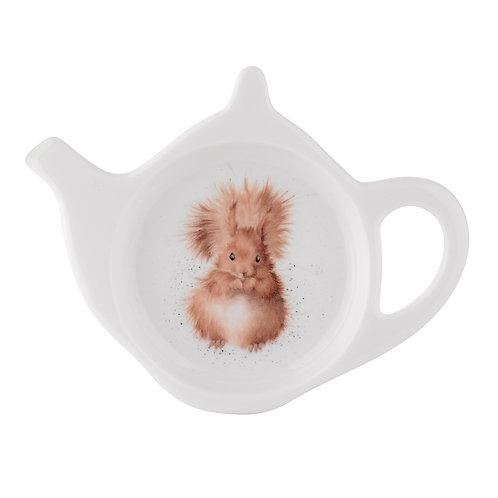 Wrendale Design Royal Worcester Teebeutelschüsselchen Eichhörnchen
