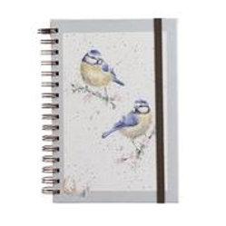 Wrendale Designs Notizbuch A5 Blaumaisen
