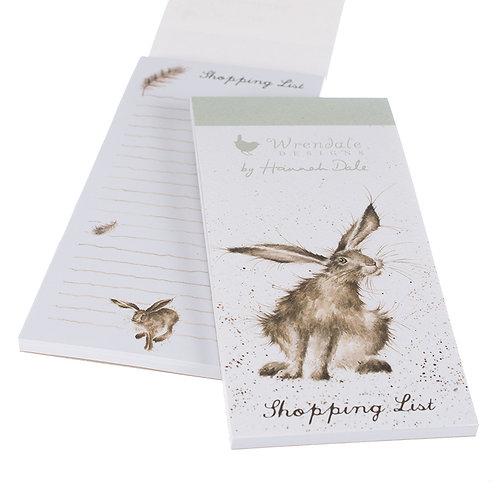 Wrendale Designs Einkaufsblock Hase